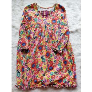 HANNA ANDERSSON 130 floral easter dress 8